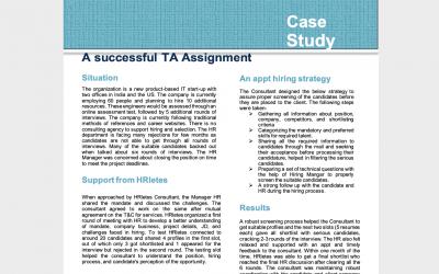 HRletes Case Study